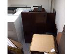 Lot: 09 & 10.CONROE - Office Furniture Parts & (2) VCRs
