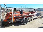 Lot: 02-18172 - Patten Inflatable Boat and Trailer