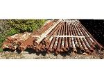 Lot: 02-18176 - (38 approx) Scrap Drill Pipes
