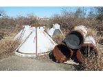 Lot: 02-18183 - (13pcs.) Scrap Metal Re-Entry Cones