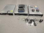 Lot: 4 - (3) Servers, Routers, Modem,  Ethernet Switch