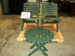 Lot: 17-163 - Patio Table & Chairs