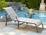 Lot: 110 - PATIO LOUNGE CHAIR