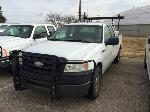 Lot: 277.LUBBOCK - 2007 FORD F150 TRUCK