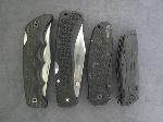 Lot: 3349 - (4) LOCK BLADE KNIVES