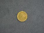 Lot: 3377 - 1886 $5 GOLD COIN - VF