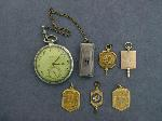 Lot: 3391 - ELGIN POCKET WATCH/FOB