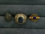 Lot: 3392 - 14K 1937 SETON HALL CLASS RING