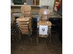 Lot: 9 - (15) Student Chairs