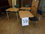 Lot: 19 & 20 - (9) Student Desks