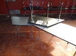 Lot: 30 & 31 - (6) Trapezoid Tables