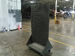 Lot: MH17 - MOBILE LOUVERED RACK-NEVER USED