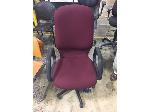 Lot: OF01 - (5) RED ROLLING OFFICE CHAIRS