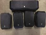Lot: 53.PU - (5) Yamaha Speakers