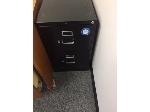 Lot: 61.PU - Blk Two-Drawer Filing Cabinet