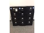 Lot: 78.PU - (3) Four Drawer Filing Cabinets