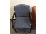 Lot: 81 & 82.PU - Side Chair & HP Printer