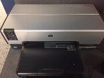 Lot: 98,99 & 100.PU - Printer, Scoring Machine & Table