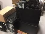 Lot: 118 & 119.PU - Servers, Apc, Keyboards &  Overhead Projector
