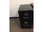 Lot: 121 & 122.PU - File Cabinet, Side Table & Apple TV