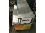 Lot: 5048 - STAINLESS STEEL TABLE