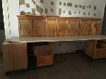 Lot: B02 - CABINETS, TABLE TOP, & DRAWERS