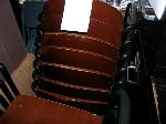 Lot: WF12 - (APPROX 6) STACKABLE CHAIRS