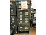 Lot: UV.61 - Diesel Engine Parts File Cabinet