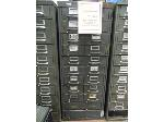 Lot: UV.62 - Diesel Engine Parts File Cabinet