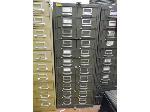 Lot: UV.63 - Diesel Engine Parts File Cabinet