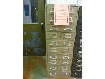 Lot: UV.64 - Diesel Engine Parts File Cabinet