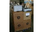 Lot: 530 - (6) HP Printers & (6) HP Paper Trays