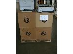 Lot: 532 - (6) HP Printers & (6) HP Paper Trays