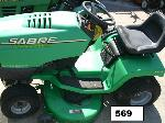 Lot: 569 - John Deere Riding Mower