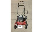 Lot: 573 - Edger, Weed Eater and (3) Mowers