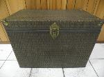 Lot: A5432 - Wicker Wood Chest