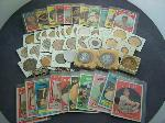 Lot: 2147 - 10K FRATERNITY PIN & BASEBALL CARDS<BR><span style=color:red>No Credit Cards Accepted for this Lot! CASH OR WIRE TRANSFER ONLY!</span>