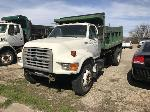 Lot: 18056-5 - 1995 Ford F800 Dump Truck