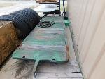 Lot: 71 - Antique Flatbed Industrial Cart
