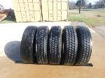 Lot: 76 - (5) Semi Truck Tires