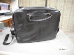 Lot: 1089 - Dell-branded Leather Laptop Bag