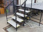 Lot: 1098 - Modular Stage Stairs