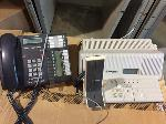 Lot: 114&115.ABILENE - (86) ASSORTED PHONES AND (2) MOTOROLA T5600 INTERCOM SYSTEMS