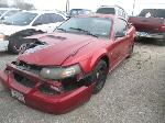 Lot: 608-262231 - 2001 FORD MUSTANG