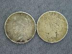 Lot: 2167 - 1924-S & 1926-S PEACE DOLLARS