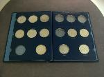Lot: 2194 - (11) PEACE DOLLARS IN COLLECTION BOOK