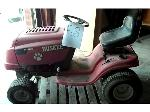 Lot: 58.HWY290 - HUSKEE LT4200 TRACTOR