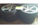 Lot: 3 - (4) Tires and Rims