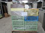 Lot: 79 - PALLET OF CRATES OF PLATES, SAUCERS, CUPS & GLASSWARE