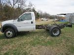 Lot: 1708 - 2006 Ford F450 Cab and Chassis Pickup